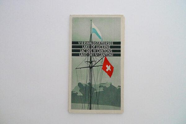Vierwaldstättersee Touristenkarte