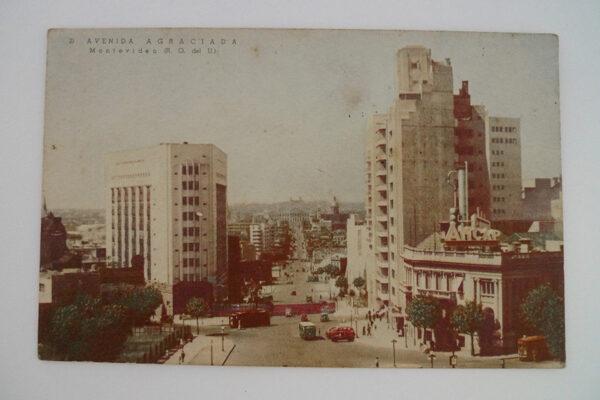 Avenida Agraciada; Montevideo