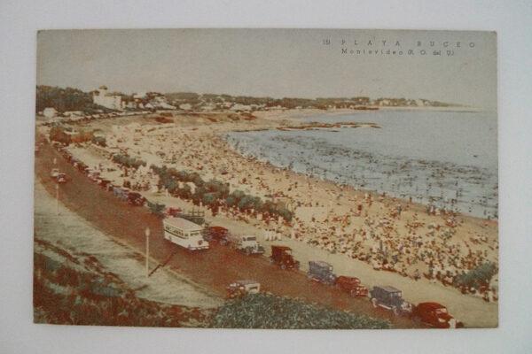 Playa Pocitos - LA, Rambla; Montevideo
